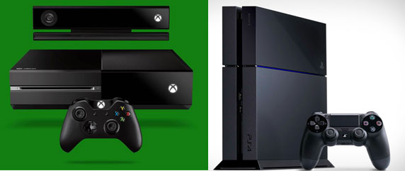 Xbox One and the Playstation 4